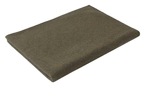 Olive Drab Warm Winter Blanket, 62