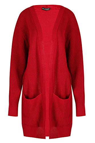 Cardigan Femmes Grand Ouvert p Outlet Oops Baggy Tricot Boyfriend Maille Grosse Femmes 51wYqvxR