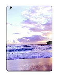 GRB11984ICaf Cases Covers Purple Beach Sunset Ipad Air Protective Cases