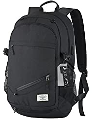 Laptop Backpack, P.KU.VDSL Business Waterproof Travel Backpack with USB Charging Port & Headphone & Basketball...