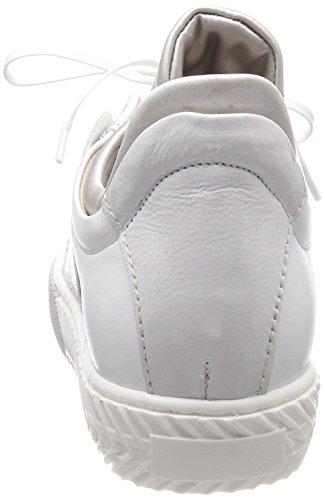 Mjus Damen 910103-0101-0002 Sneaker Weiß (Bianco+Bianco+Argento)