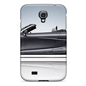 Flexible pc Back Case Cover For Galaxy S4 - 2010 Abt Audi R8 Spyder 2