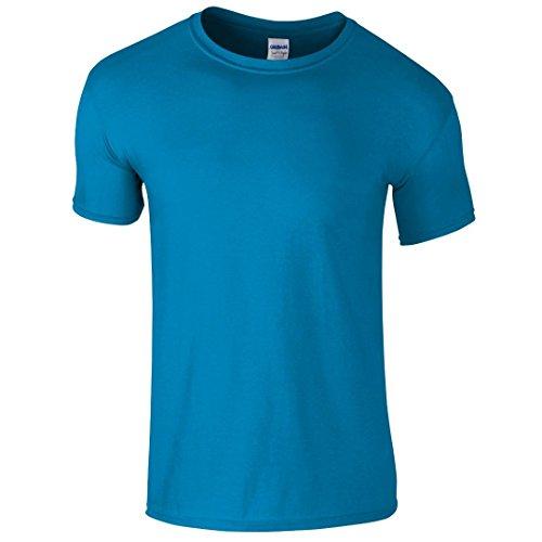 Gildan SoftstyleTM adultos hilado y T-Shirt zafiro L