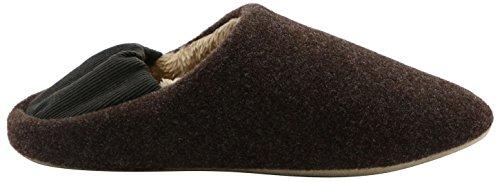 Mens & Womens Slip-On House Slippers Anti-Slip Clog Indoor Shoes Cozy Slipper Coffee cKfv9Jeo