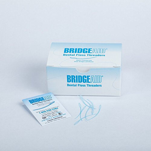 Floss Aid TDPS Bridge Aid Dental Floss Threader (Pack of 1000)