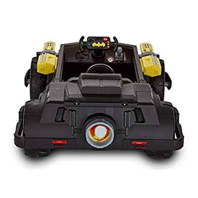 New! DC Comics Light and Sound 6-Volt Batman Batmobile Rechargable Ride on Toy for Boys: Sports & Outdoors