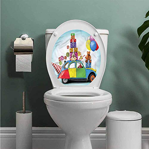 (ThinkingPower Birthday Home Decor Car Hat Toys Lollipops Vinyl Sticker W14XL14 INCH)