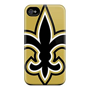 Buydiycase EFJ7113FJYc Case Cover Iphone 4/4s Protective Case New Orleans Saints