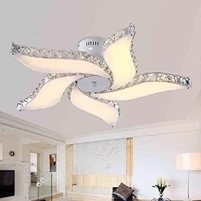 LightInTheBox Led Ceiling Lamps , 5 Light , Simple Modern Artistic MS-86424 Flush Mounted Uplight for Living Room 1 Tier LED Integrated