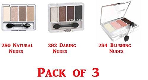 CoverGirl Eye Enhancers 4 Kit Blushing Nudes Eye Shadow -- 3 per case.