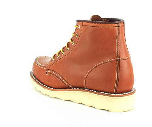 Womens 3375 Moc 6 Leather Wing Red Boots Inch aqvqg