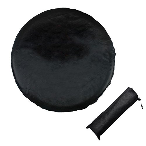 Jeep Wrangler Spare Tire Cover Oxford Waterproof - Covering Jeep, Trailer, RV, and Truck Wheel CARSUN fits Entire Wheel 26