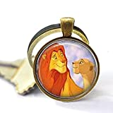 Simba & Nala Grown Up Keychain