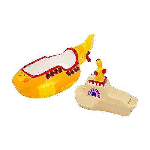 Vandor The Beatles Yellow Submarine Salt and Pepper Set (73030) Yellow Salt Shaker