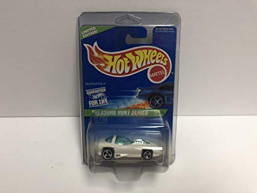 - SILHOUETTE II Hot Wheels 1997 Mattel TREASURE HUNT SERIES Limited Edition diecast 2/12 with protector case