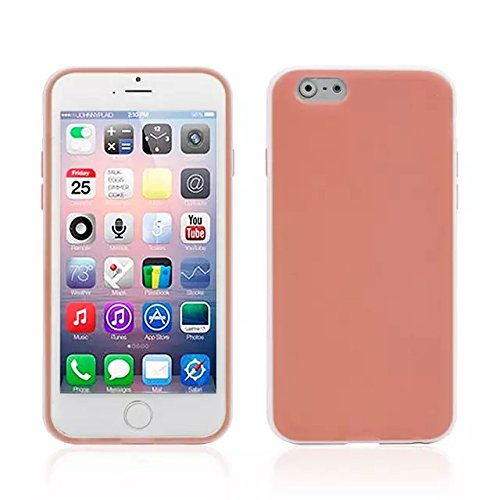 Monkey Cases® iPhone 6 - 4,7 Zoll - Double TPU Case for iphone 6 - Orange Apricot - Handyhülle - ORIGINAL - NEU/OVP - Orange Apricot