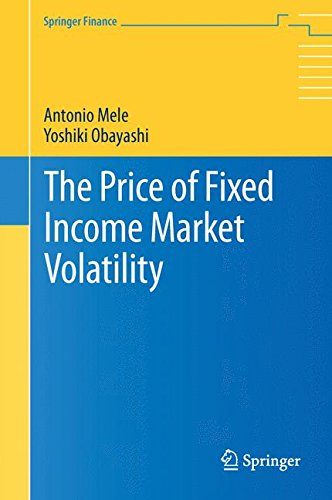 The Price of Fixed Income Market Volatility (Springer Finance)