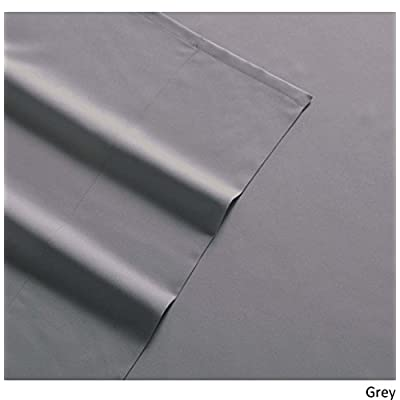 My World LHK-SHEETSET Solid Grey Twin XL Sheet Set: Home & Kitchen