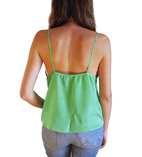 Blusa Posh Verde Seta de Gear Estivoseta Donna EqPZq