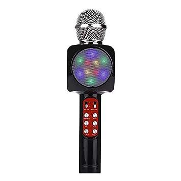 Micr/ófono inal/ámbrico profesional Alta sensibilidad Inicio KTV M/úsica Reproducci/ón Oneline Chat Karaoke Micr/ófono para iOS
