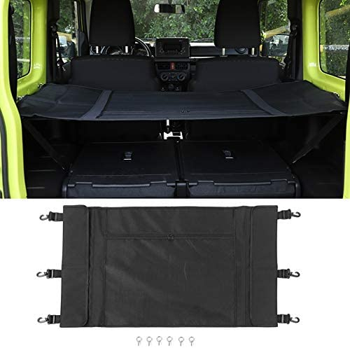 Moligh doll Car Luggage Carrier Trunk Curtain Cover For Jimny 2019 2020 Car Interior Accessories