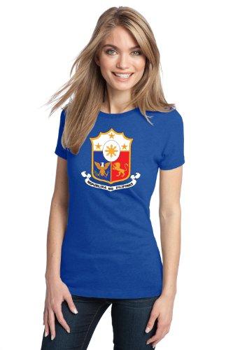 PHILIPPINES COAT OF ARMS Ladies' T-shirt / REPUBLIKA NG PILIPINAS Tee Shirt
