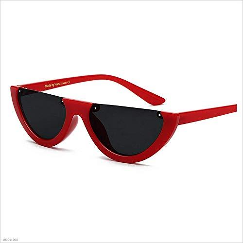 Style Brown Femmes UV Red Couleur Soleil De Beach Vacances Protection pour Rétro Party Pêche Lunettes De Punk Joo sans Semi Conduite Tzwq5HU
