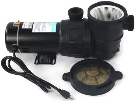 Balance World Inc Super in & Above Ground 1.5 HP Swimming Pool Water Pump 115 Volt Motor Portable
