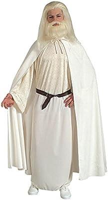 Disfraz de Gandalf el Blanco Adulto Cualquier día: Amazon.es ...