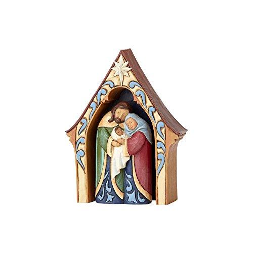 - Enesco Jim Shore Heartwood Creek Creche and Holy Family