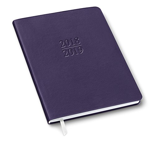 2019 Gallery Leather Family Planner Camden Violet 9