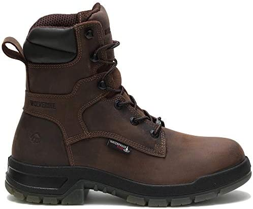 Wolverine Ramparts, Men s, Comp Toe, EH, WP 8 Inch Boot