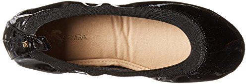 Flat Black Samra Ballet Patent Samara Women's Yosi w74TIq1