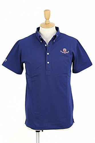 ハリールイド HALYRUID 半袖ボタンダウンポロシャツ ゴルフウェア メンズ hm041