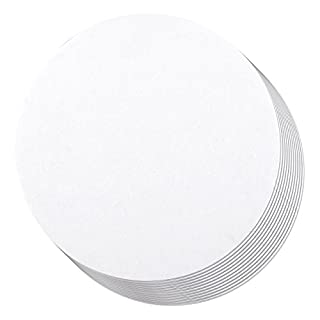 12-Pack Round Cake Boards, Cardboard Cake Circle Bases, 6 Inches Diameter, White