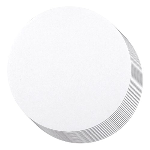 Diameter Round Base - Cake Boards - 12-Piece Cardboard Round Cake Circle Base, 8 Inches Diameter, White