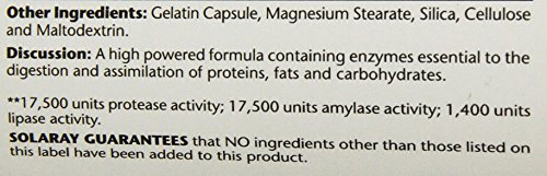 Solaray Super Digestaway Capsules, 180 Count by Solaray (Image #2)