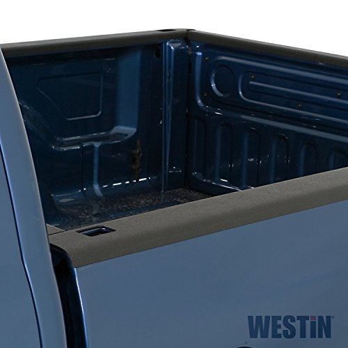 Chevrolet Stake Truck - Wade 72-41151 Truck Bed Rail Caps Black Smooth Finish with Stake Holes for 1999-2007 Silverado & Sierra 1500 2500 (Classic only) with 6.5ft bed (Set of 2)