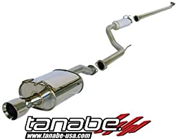 Tanabe T70126 Medalion Touring Cat-Back Exhaust System for Honda Civic Coupe EX 2006-2006