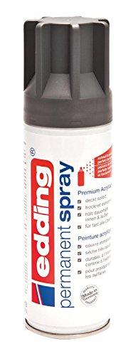 edding® permanent spray, seidenmatt Anthrazit