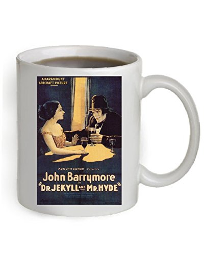 Dr. Jekyll and Mr. Hyde Coffee Mug OZ. (The Poster is printed on both sides of the Mug).