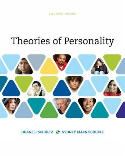 Theories of Personality by Wadsworth Publishing