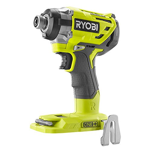 (Ryobi P238 18V One+ Brushless 1/4 2,000 Inch Pound, 3,100 RPM Cordless Impact Driver w/ Gripzone Overmold, Belt Clip, and Tri-Beam LED (Power Tool Only, Battery Not Included) )