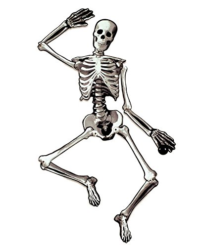 Amscan Jointed Skeleton Cutout Decoration 53