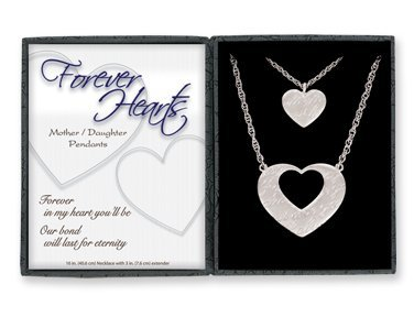 Amazon forever hearts motherdaughter pendant set pendant forever hearts motherdaughter pendant set aloadofball Images