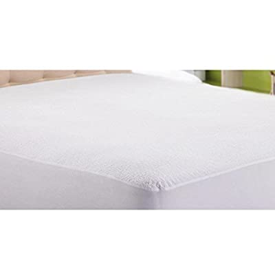 Ideal Linens Premium Waterproof Mattress Protector - Dust Mite and Bacteria Resistant - Hypoallergenic - Fitted Deep Pocket - (Twin)