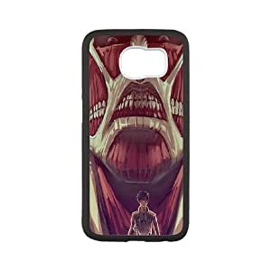 Attack On Titan Samsung Galaxy S6 Cell Phone Case Black FRGAG6410917459114