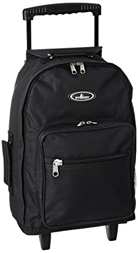 Everest Wheeled Backpack - Standard, Black, One Size