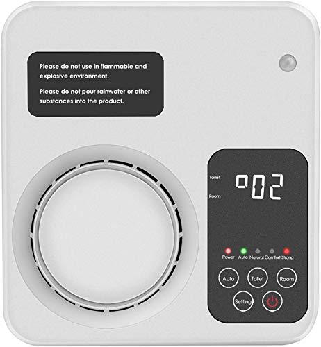 🥇 WANXIAN Purificador De Aire Inicio Generador De Ozono Ionizador De Aire Desodorizador De Eliminación De Olores No Es Necesario Reemplazar El filtro.