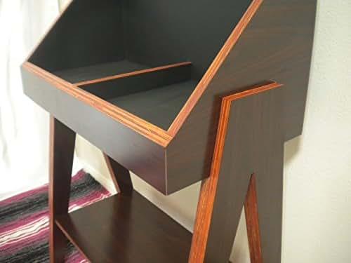 Amazon Com Custom Vinyl Record Display Stand And Storage